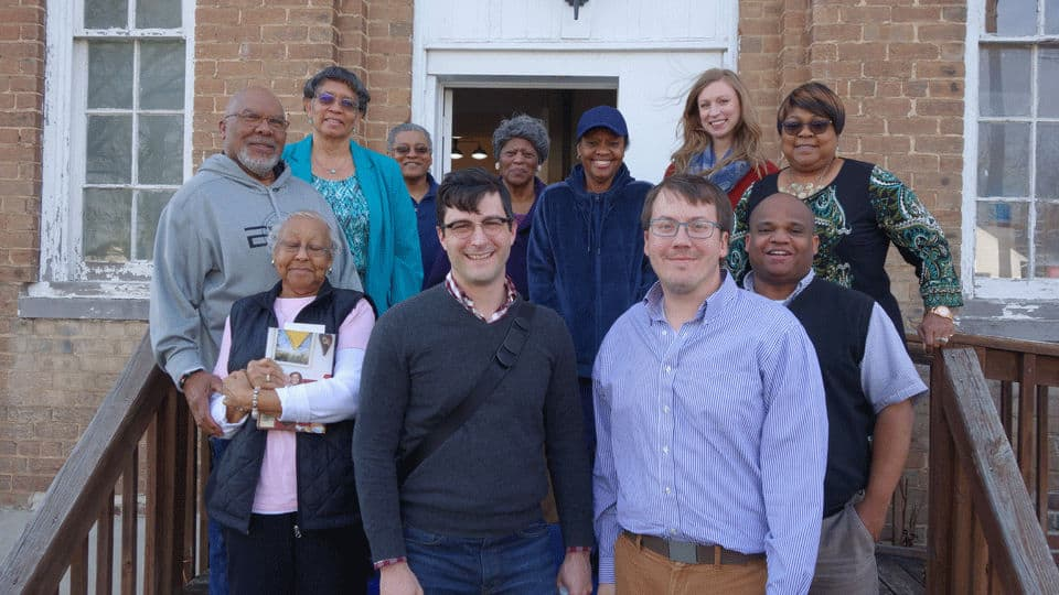 Group photo of The Community Foundation of Greater Greensboro and The Community Group